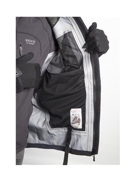 Expedition jacket strap