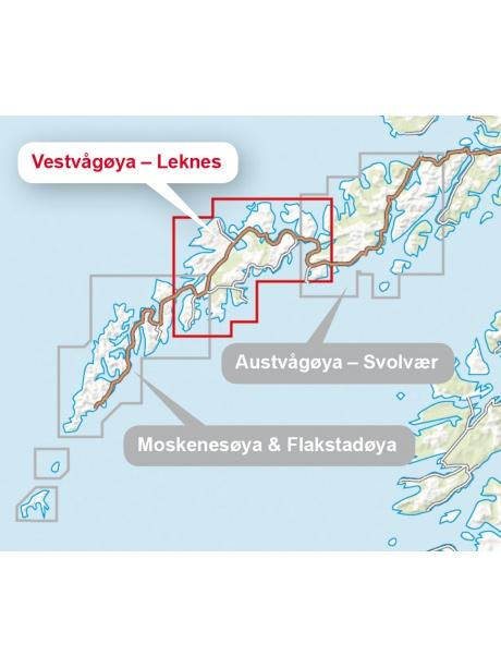 Lofoten Vestvagoya přehled