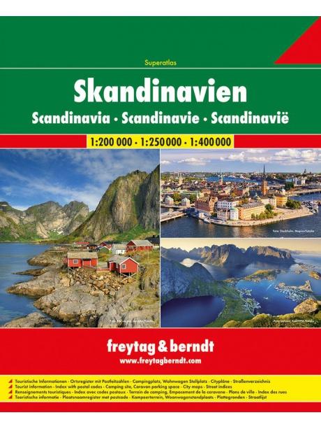 Autoatlas Skandinávie