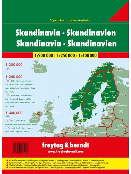 Skandinávie - obsah