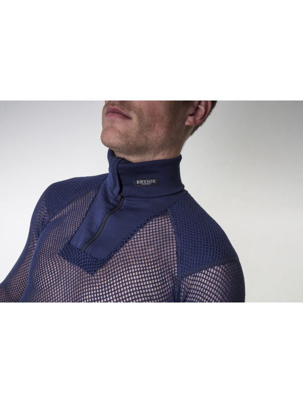 Super Thermo Zip polo detail