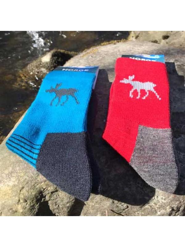ponožky Norway s losem