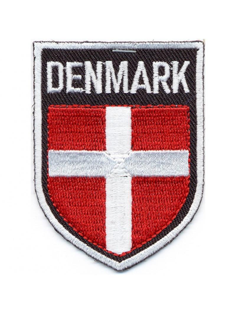 Nášivka dánské vlajky