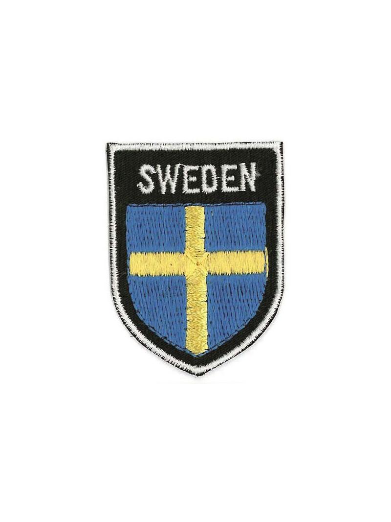Nášivka švédské vlajky