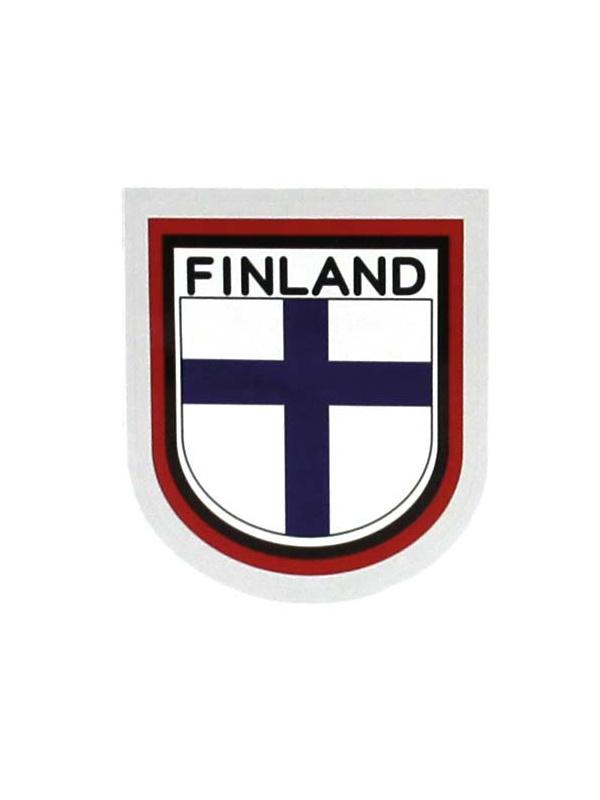 finská vlajka - samolepka