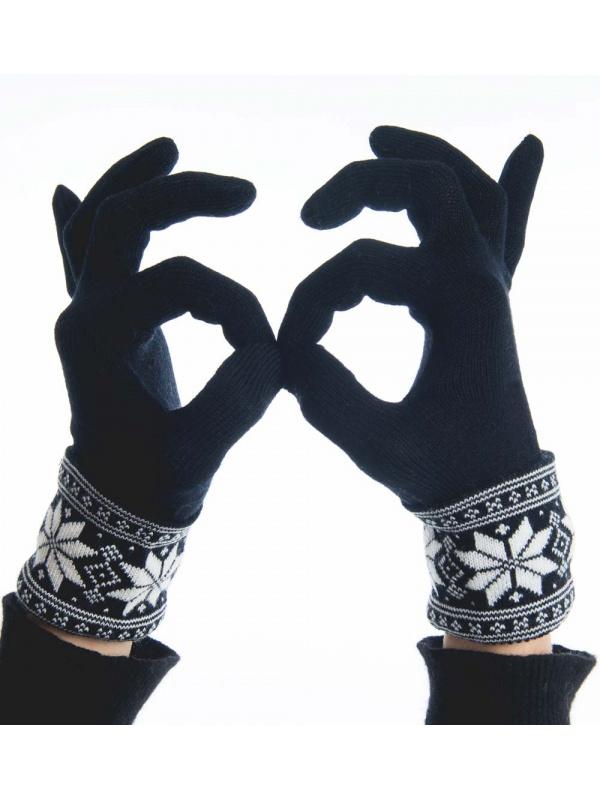 Vrikke rukavice černé