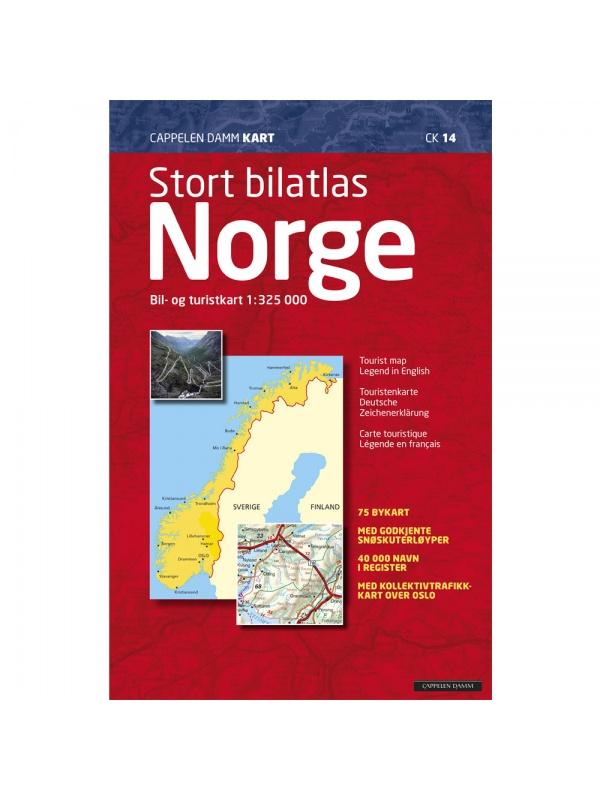 Velký autoatlas Norsko