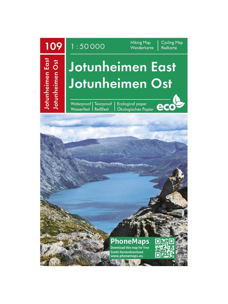 Jotunheimen phone Maps