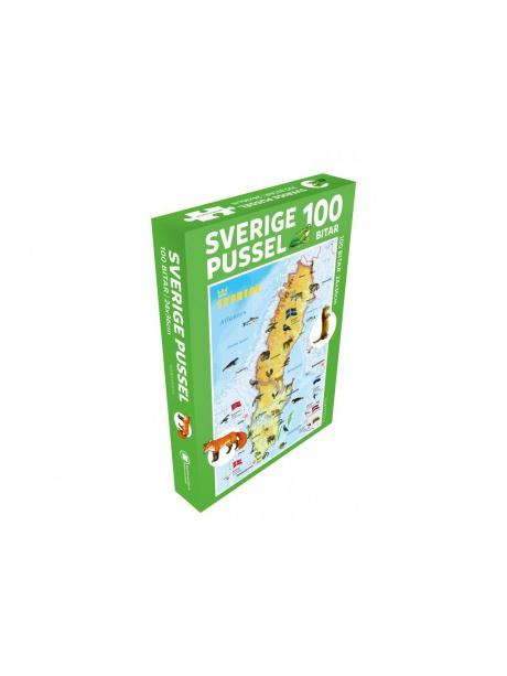 Švédsko - puzzle
