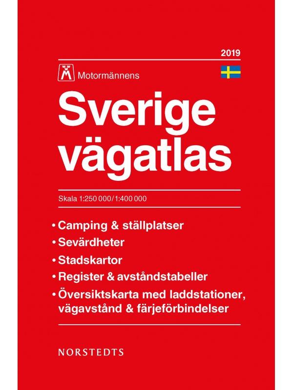 Švédsko - autoatlas