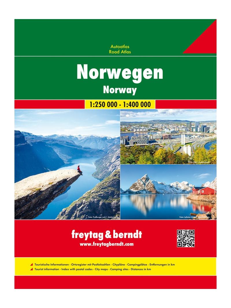 Norsko - autoatlas