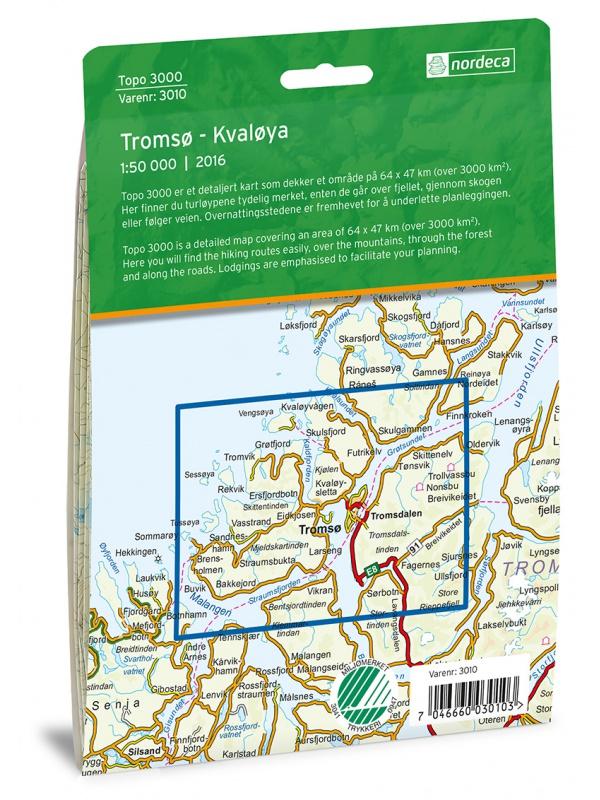 Tromso - Kvaloya zadní strana obalu
