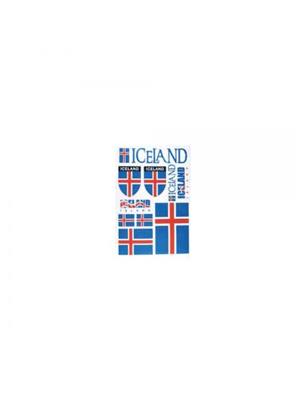 samolepky Island