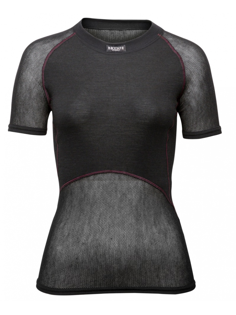 Wool Thermo Lady black
