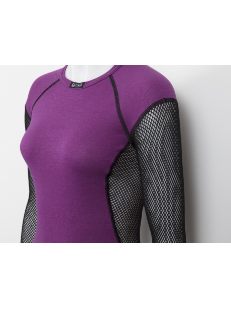 Wool Thermo Violet detail