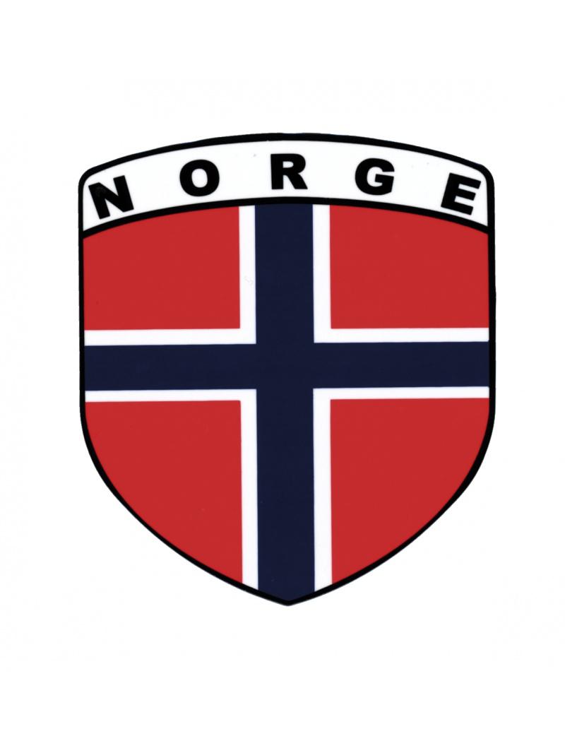 norská vlajka - samolepka
