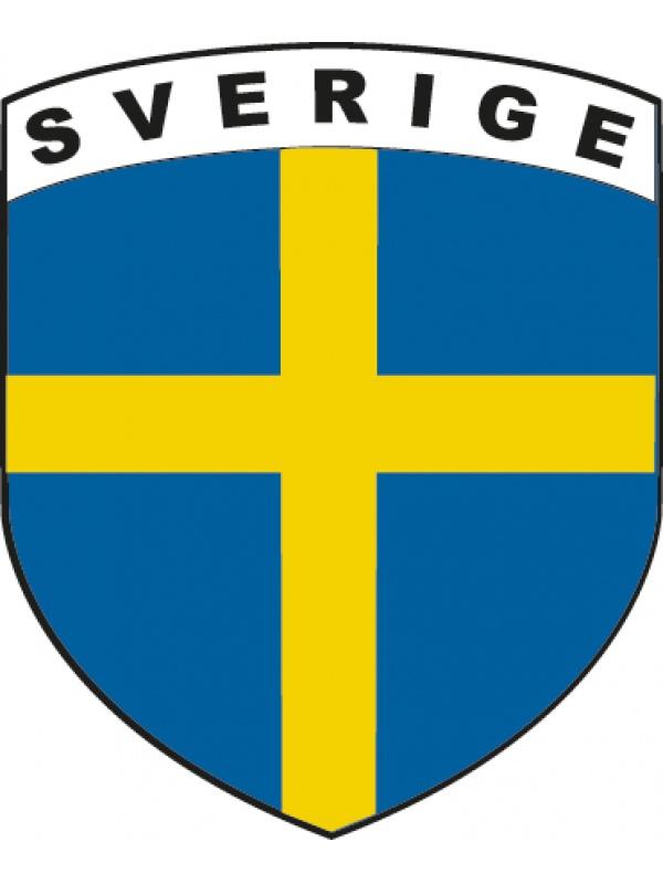 švédská vlajka - samolepka
