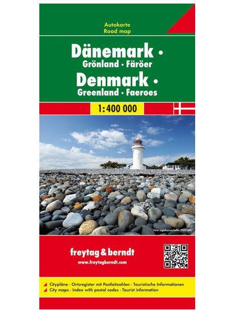 Mapa Dánsko