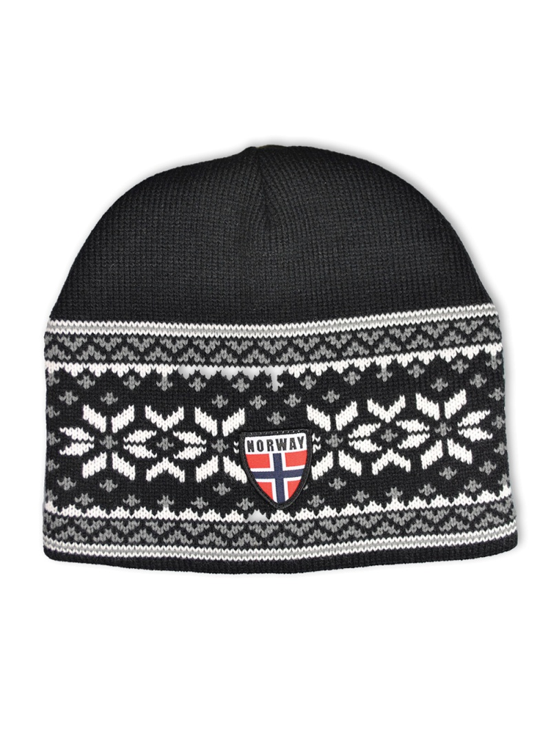 pletená čepice Norway
