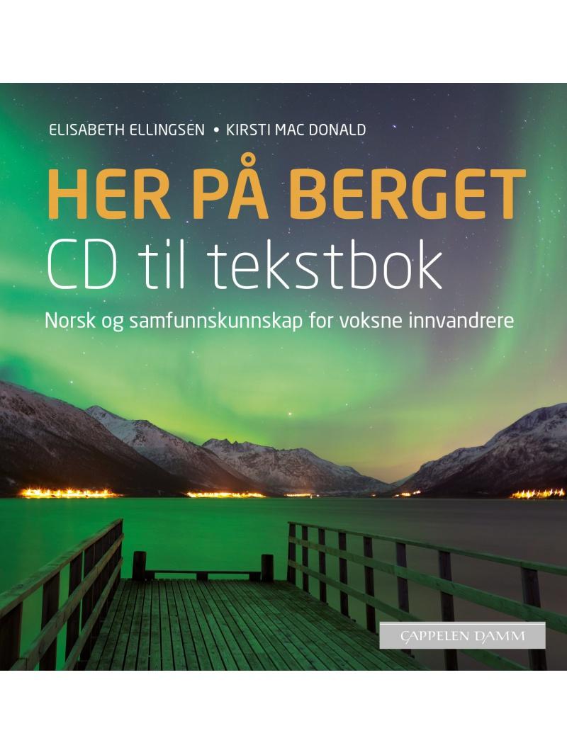 CD k učebnici Her paa berget