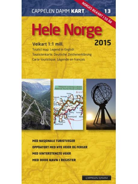 Veikart Norge 2016