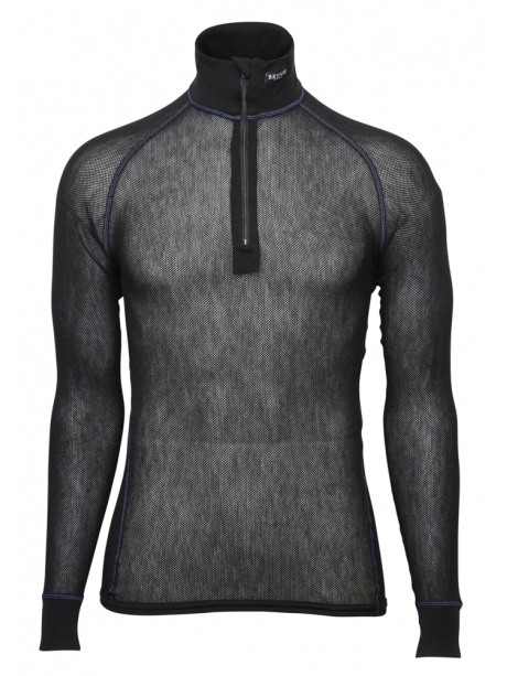 Wool Thermo Light Zip polo