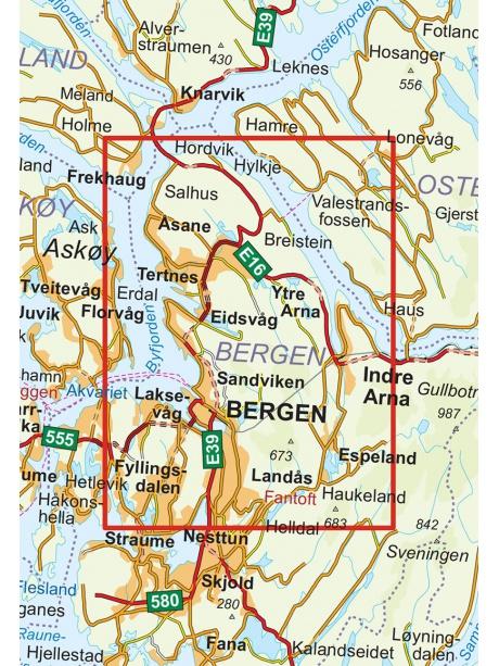 Bergen - 7 fjellsturen - prehled