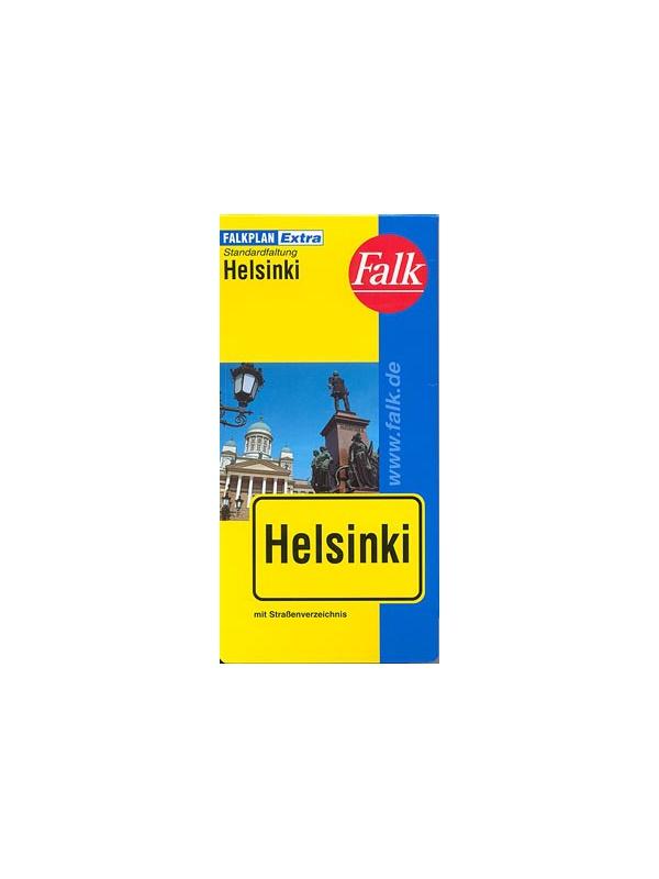 Helsinki - plán města