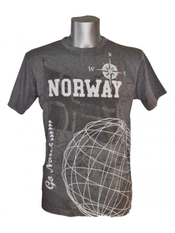 tričko Norway s motivy severu