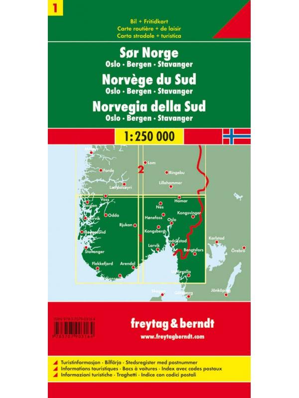 Norsko 1 -obal