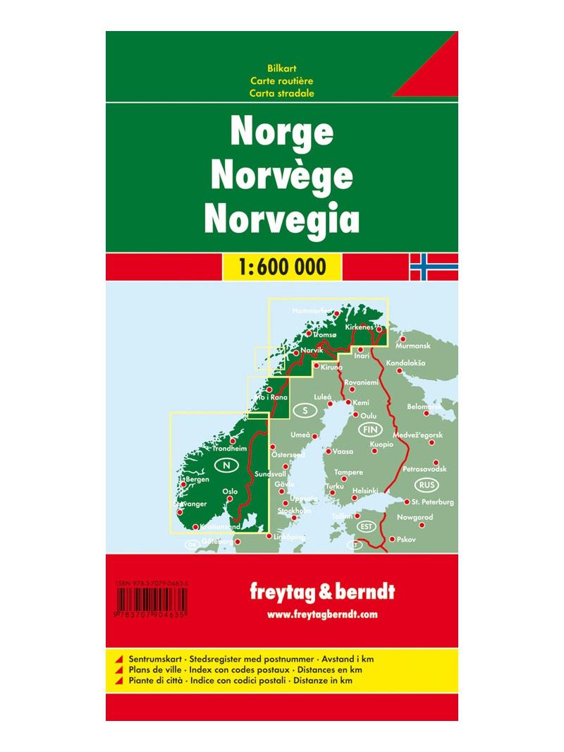 Automapa Norsko
