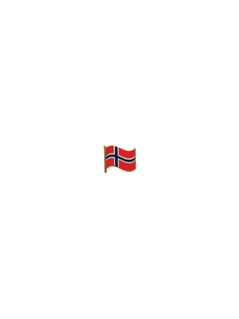 Odznak s norskou vlajkou