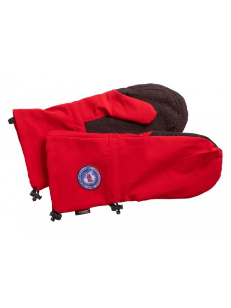 Expedition Mittens red