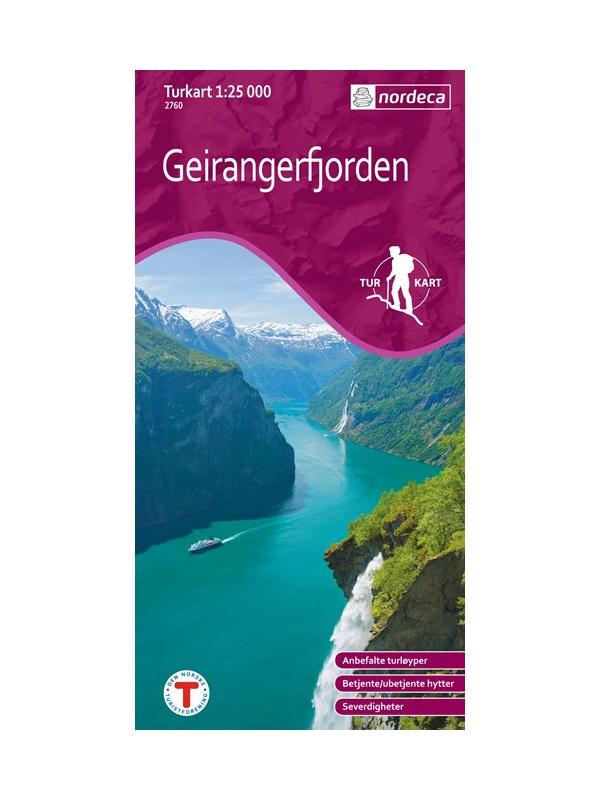 Romsdalsfjella Nord 1:50 000