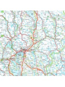 Road maps Sweden