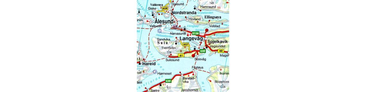 Severské mapy