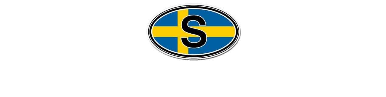 Mapy Švédsko