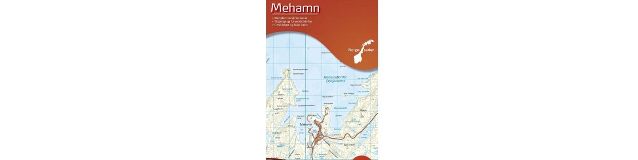 Speciální mapy Norsko